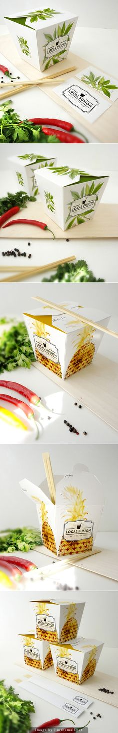 Food Box and local fusion #packaging PD
