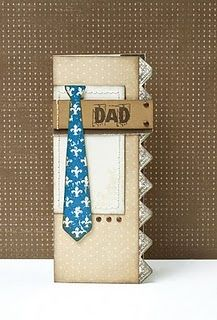 card idea, fathers day crafts, tie, father day, masculine cards
