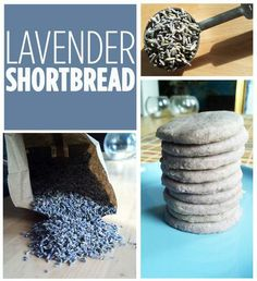 How To Make Lavender Shortbread
