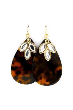 Milla Teardrop Earrings on Emma Stine Limited