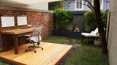 outdoor workspace? yes please!