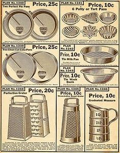 Vintage Cooking and Baking Print to frame.