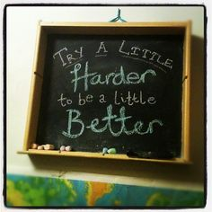 Family reminder: We all need to try a little harder sometimes (quote from Gordon B. Hinckley). by amberjunestudios famili remind, quot