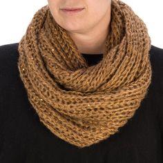 Knit Infinity Scarf Green | Scarves, Cheap Fashion Jewelry | Purple Box Jewelry