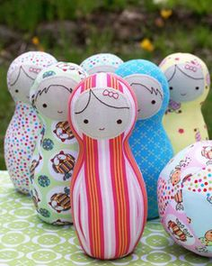 skittles toy sewing pattern