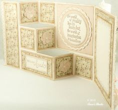 3-Step Card with cutting file | Cards | Paper Crafting Projects | Tara's Craft Studio