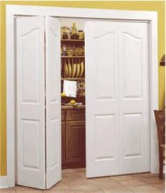 Sliding Closet Doors, definitely want these for my living room doors!