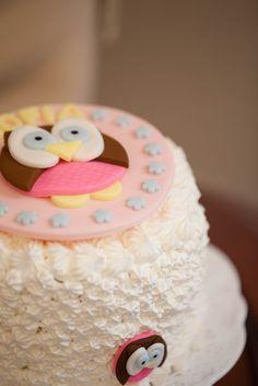 Owl Birthday Cake