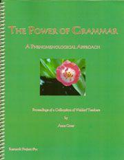the power of grammer. how to teach it (Rudolf Steiner) -free eBook