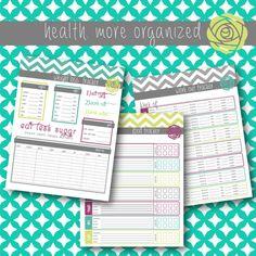 reduc weight, weight loss binder, weight binder, weights, weight loss tracker