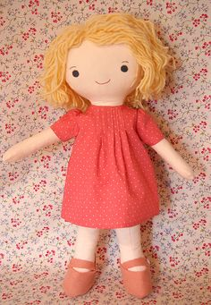 Hillary Lang is a doll making genius!