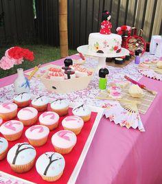 Japanese Theme Garden Party