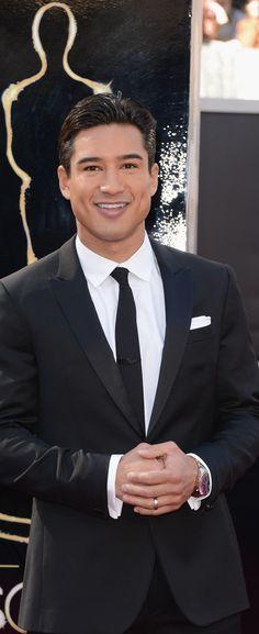Mario Lopez 2013 Oscar Red Carpet