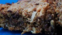 The Kitchen Witch: Nutty Butterscotch and Chocolate Oat Bars
