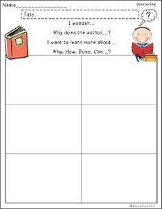 Reading Strategy Posters, Thinking Stem Posters, and Reading Response Sheets $