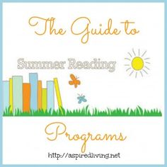 Great list of summer reading programs, plus get a FREE Simple Summer Reading Log