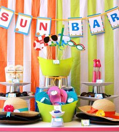 all the FAB of a dessert table - none of the calories! party-ideas-by-party-planners