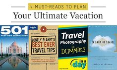 Travel the World with These 4 Books #travel #vacation #books