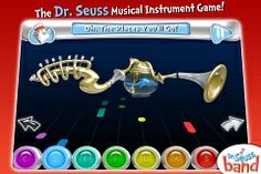 Dr. Seuss Band (Free App on iTunes)