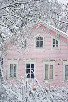 Pink Winter House ph
