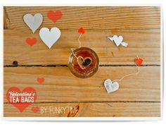 Heart-Shaped Tea Bags ~ so easy, I love it.