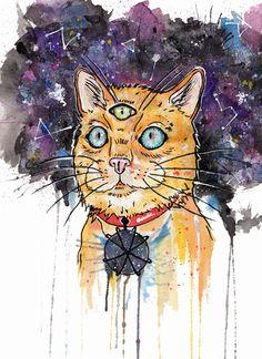 Space Cat...
