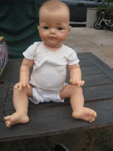 Ideal Bye Bye baby vintage doll