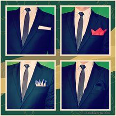 Pañuelos de bolsillo para hombres. Vídeo tutorial. Más detalles en landoigelo.com