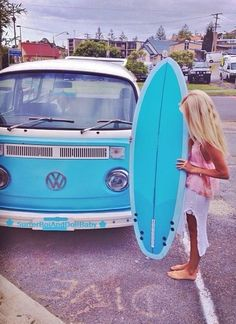 surf girls, surfs up, bus, surfboard, road trip, summer vibes, vw vans, beach life, baby blues