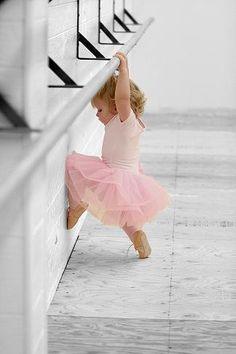 Adorable little dancer.