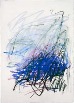 Joan Mitchell - Untitled, 1992.
