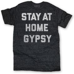 At Home Gypsy Tee Unisex Black