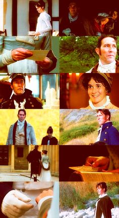 Persuasion directed by Roger Michell (1995) #janeausten #fanart