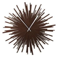 """Liven up your walls with the contemporary and unique #Umbra Starburst Molded Wall #Clock, this extra-large 24"""" diameter, molded wall clock offers a """"burst"""" of elegance and #décor, perfect for your chic and modern home.  Available at #Giftease *Door Delivered anywhere in #Pune*"""