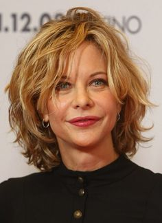 Cute except for her mouth OMG Layered wavy hair with bangs | Meg Ryan Curly Bob Haircuts | Short Hairstyles Short Hair, Layered Hairstyles, Hair Styles, Bing Image, Hair Cut, Meg Ryan, Shorts Hair Style, Medium Hairstyles, Shorts Hairstyles