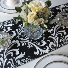 Wedding Table runner but in navy?