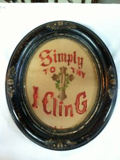 Victorian Pierced Paper Embroidery in Antique by PurpleIrisVintage, $45.00