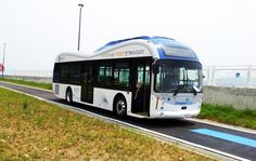 KAIST Launches First Road-Charged OLEV Electric Buses in South Korea