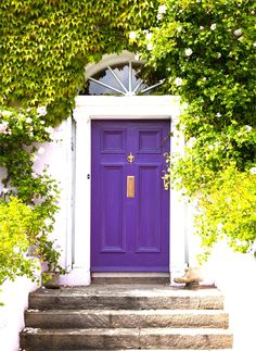 8 Unusual Colors You Haven't Considered For Your Front Door (But Definitely Should)
