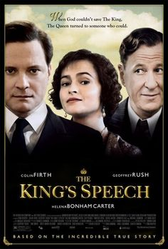 The King's Speech. It's a must see if your speech path