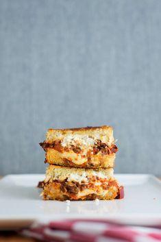 The Lasagna Grilled Cheese | bsinthekitchen.com