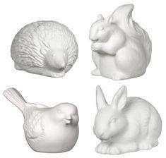 ceramic animal set
