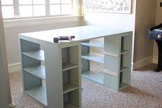 A DIY craft table!