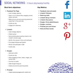 Do you know how to set up a social media campaign?