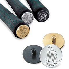 Personalized Golf ID Markers  Keep clubs and balls from getting lost! markers made in the USA; pouch made in Malaysia