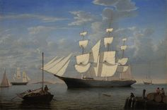 "Starlight in Harbor, Fitz Henry Lane, ca.1855, p.446 (example; ""my Fitz Henry Lane"")"