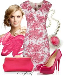 """Lady in Pink"" by disneydiva7 on Polyvore"