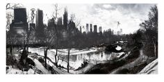 Invasion NY : Central Park,  The Invasion Series