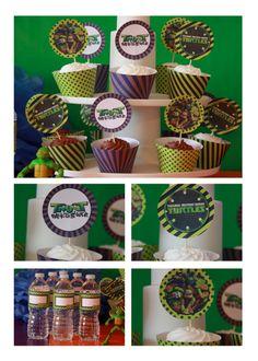 Teenage Mutant Ninja Turtles Birthday Party Printables