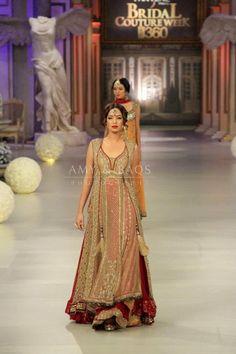 Beautiful Pakistani dress for  bridal wear designer